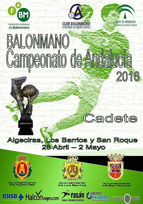 CAMPEONATO ANDALUCIA CADEBA EN CAMPO GIBRALTAR Cadete 2016