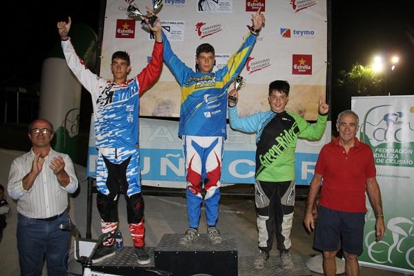 MARIO RUIZ JIMENEZ CAMPEON 13 Y 14 A+æOS BMX 16