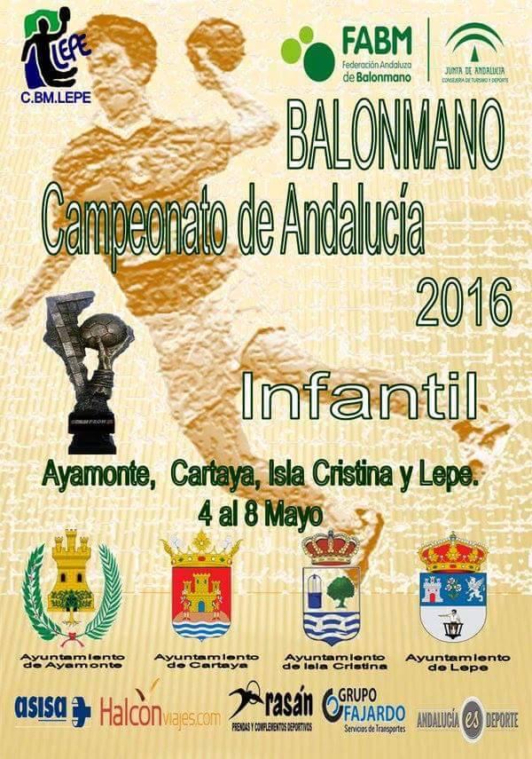 CAMPEONATO ANDALUCIA INFANTIL BALONMANO 16